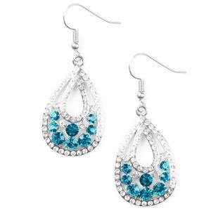 Sparkling Stardom blue earrings